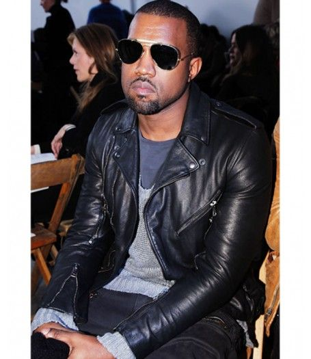 Kanye West Leather Jacket Men S Biker Style Black Jacket Leather Jacket Mens Biker Style Leather Jacket Men