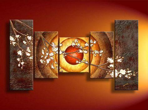 Olio Su Tela Decorazione Pictures Home Astratta Moderna Della Pittura
