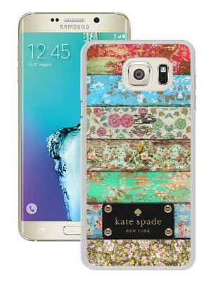 sports shoes bb45e 274d1 Genuine Kate S6 Edge Plus Case,Kate Spade 90 White Samsung Galaxy S6 ...