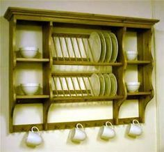 Plate Rack/Mug Holder. Kitchen ... & 10 Things You Need to Maximize Vertical Space | Middle Third and ...