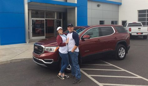 Joshua S New 2018 Gmc Acadia Congratulations And Best Wishes From Findlay Chevy Buick Gmc And David Phillips Congratulations And Best Wishes Buick Gmc Buick