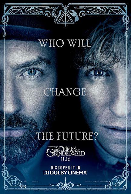 Posteres De Os Crimes De Grindelwald Para Imax E Dolby Cinema