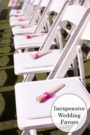 Try these frugal alternatives to overly expensive wedding and shower favors.
