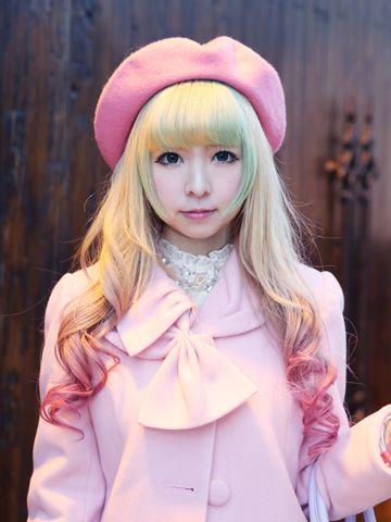 Beautiful Lolita hair #hair #lolitafashion #hairstyle