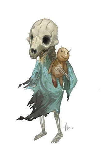 Attic Whisperer By Https Www Deviantart Com Njoo On Deviantart Shadow Monster Monster Book Of Monsters Creature Design