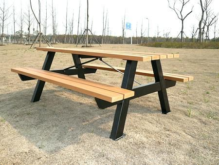 Architecture Metal Picnic Tables Fresh How To Assembly Your With Regard Decorati Picnic Table Metal Picnic Tables Metal Table Legs