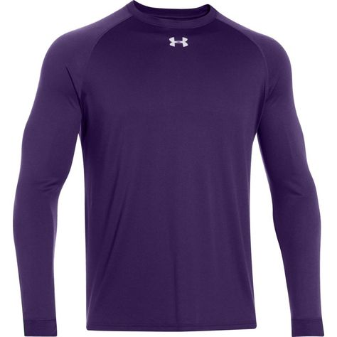 mens purple under armour shirt