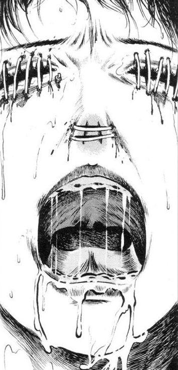 Closed Door Drawing closed door - horror/guro manga † | ..the cruel side of anime