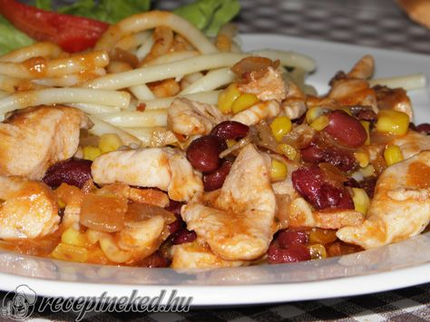Kipróbált Mexikói csirkemell csíkok recept egyenesen a Receptneked.hu…