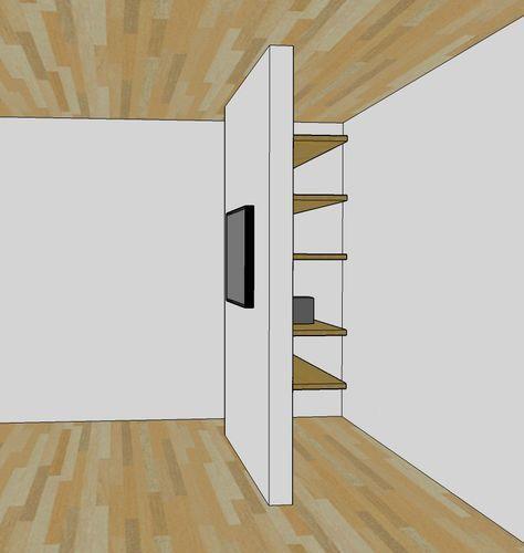 Tv裏のリビングクローゼット 注文住宅 Architecterの建物わっしょい インテリア 収納 リビング クローゼット ミニマリストホーム