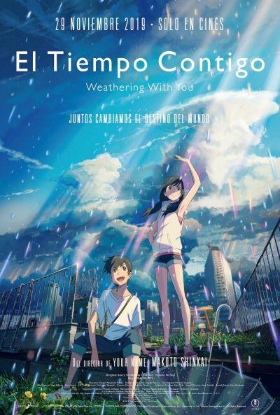 El Tiempo Contigo Ver Pelicula Completas Espanol Castellano Gratis Anime Movies Animated Movies Anime Films