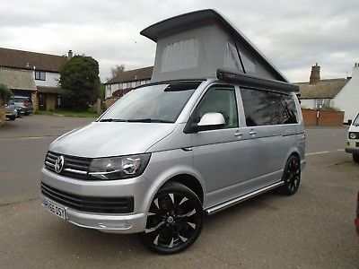 2016 Volkswagen Transporter T6 Tdi Tailgate Diesel Heater Rib Bed Camper Van