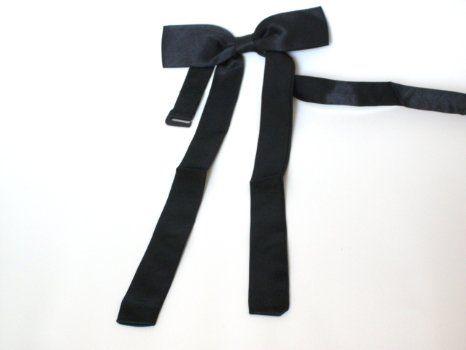 Amazon.com: Western tie western bow tie unisex (Black): Clothing