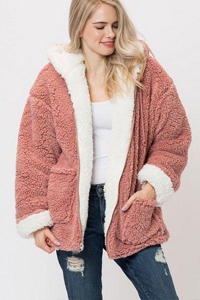 Womens Cardigan Sweater Soft Plush Long Oversized Open Front Pockets Jacket Coat