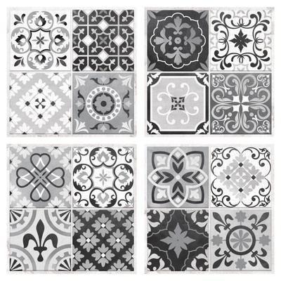 Stickers Papier Peint Adhesif Carreaux De Ciment Carreaux De
