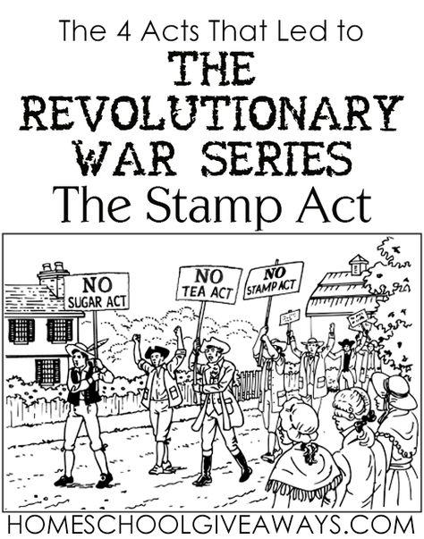 4 Acts That Led to The Revolutionary W.The 4 Acts That Led to The Revolutionary W. The 4 Acts That Led to The Revolutionary War Series: The Stamp Act - Homeschool Giveaways Revolutionary War Battles Scavenger Hunt -Task. by Think Tank Teaching American History, American History Lessons, Teaching History, History Education, History Classroom, Teaching Resources, Teaching Tools, 4th Grade Social Studies, Social Studies Activities