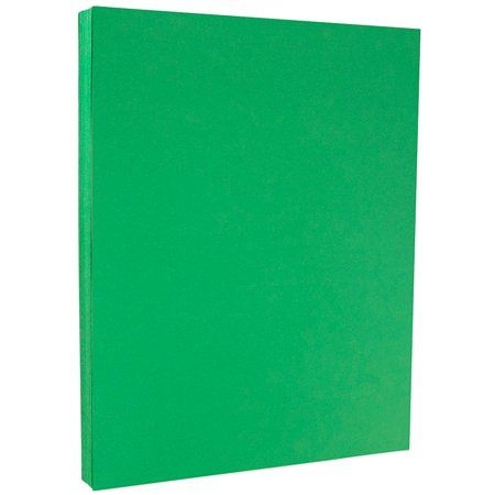 Office Supplies Card Stock Paper Green Paper