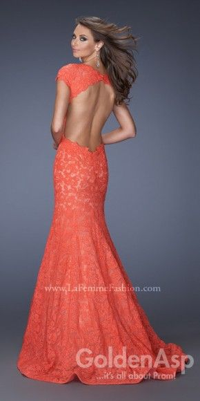 La Femme 19650 Prom Dress, from Golden Asp\'s selection of open back ...