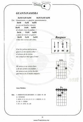 Curso De Guitarra Canciones De Guitarra Acordes De Guitarra Guitarra Música