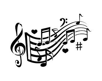 I Love Music Svg Music Svg Music Logo Svg Music Clipart Etsy In 2021 Music Clipart Music Notes Art Music Notes Drawing