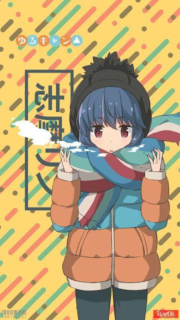 Shima Rin Yuru Camp Wallpaper Gadis Anime Kawaii Seni Anime Gadis Animasi