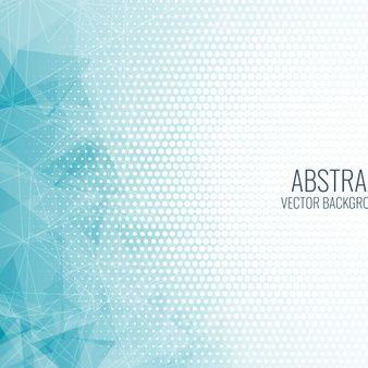 Download Abstract Blue Geometric Shapes Background For Free In