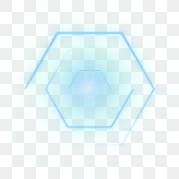 Blue Hexagonal Effect Aperture Ring Halo Png Element Png And Psd In 2020 Clip Art Hexagon Watercolor Background