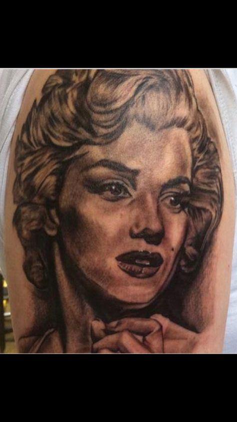tattoolife Marylin Monroe portrait! Come...