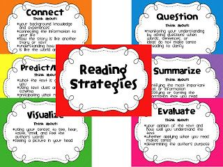 Reading Strategies Posters Printable | One Happy Teacher: Yay for ...