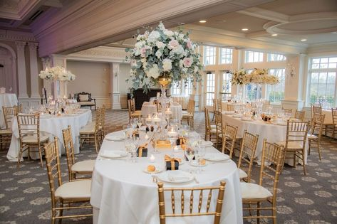 """The Park Savoy Estate on Instagram: """"Floral centerpieces add a bright and cheery element to your celebration! . #parksavoy #parksavoyestate #reception #newjersey #njwedding…"""""""
