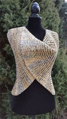 """Crochet Patterns Free Download Guide (engl.) For """"The Thing"""" – is it more of a vest? Or Tuc … 