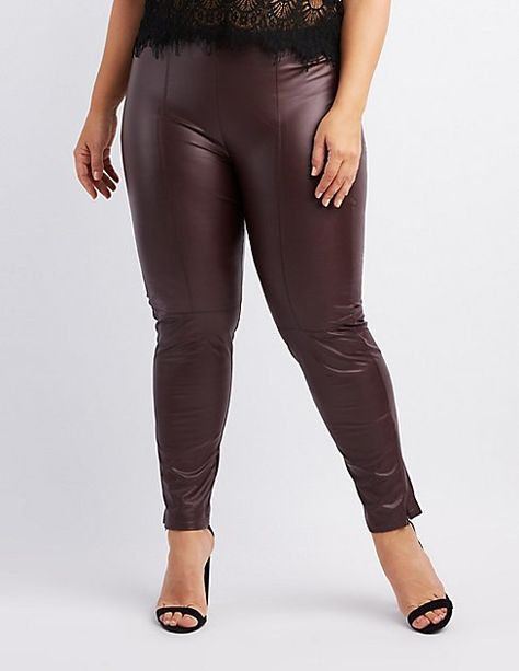 1e829450e5898 Plus Size Faux Leather Leggings - Sale! Up to 75% OFF! Shop at Stylizio for  women's and men's designer handbags, luxury sunglasses, watches, jewelry,  purses ...