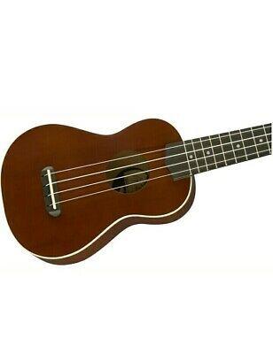 Fender Venice Soprano Mini Ukulele Natural Wood Guitar Hawaii Gift Present Kmise Ebay In 2020 Ukulele Sopranos Hawaii Gift