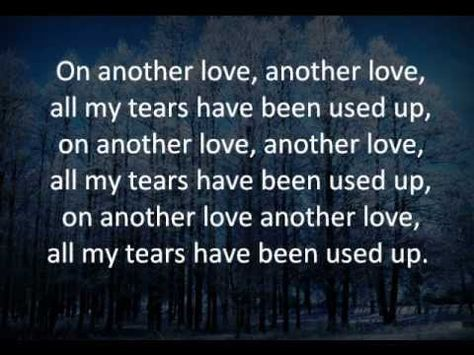 Another Love Tom Odell Lyrics With Images Another Love Lyrics