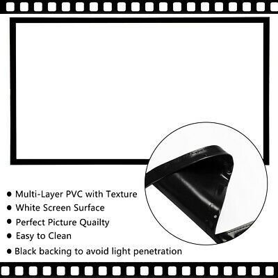 100 120 Projector Screen 16 09 8k 4k Ultra Hd Home Theater Outdoor 3d Movie Us In 2020 At Home Movie Theater Projector Screen Home Movies