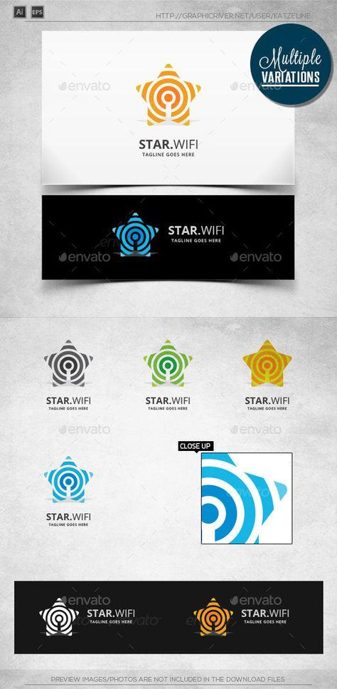Star Wifi - Logo Template