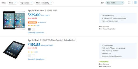 Amazon vs Walmart : Whose search UX is more usable?