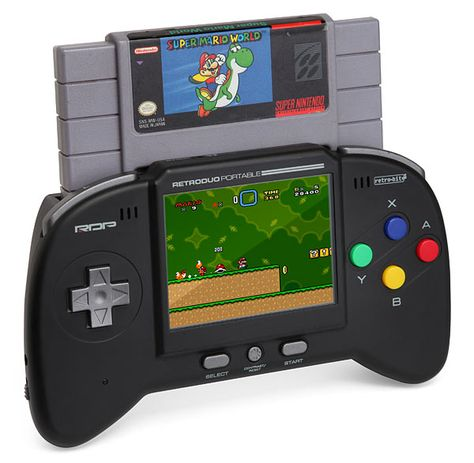 Retro Duo Portable Gaming System for Your Old Nintendo NES/ SNES Games |Gadgetsin.......UHM YES!!!!!