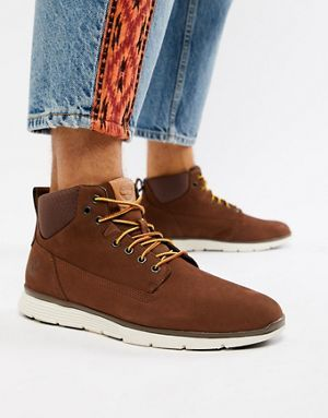 Timberland Killington Chukka Wheat With Brown Sneakers