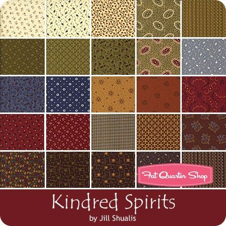 1800's Kindred Spirits Charm PackJill Shaulis for Windham Fabrics ... : kindred spirits quilt shop - Adamdwight.com