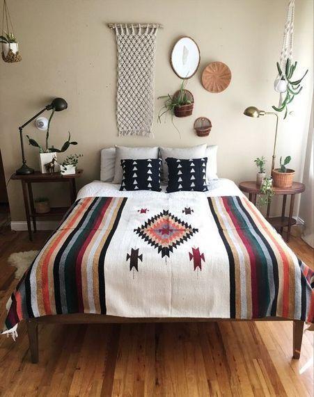 50 Amazing Bohemian Master Bedroom Design Ideas Western Bedroom Decor Mexican Bedroom Bedroom Design