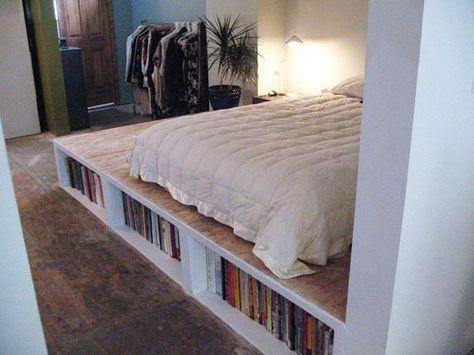 Look Diy Platform Bed With Storage Platform Bed With Storage Diy Platform Bed Diy Bed