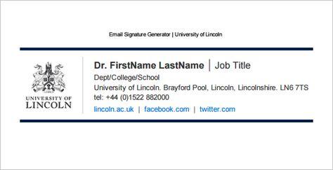 Email Signature  Google Zoeken  Email Signaturen