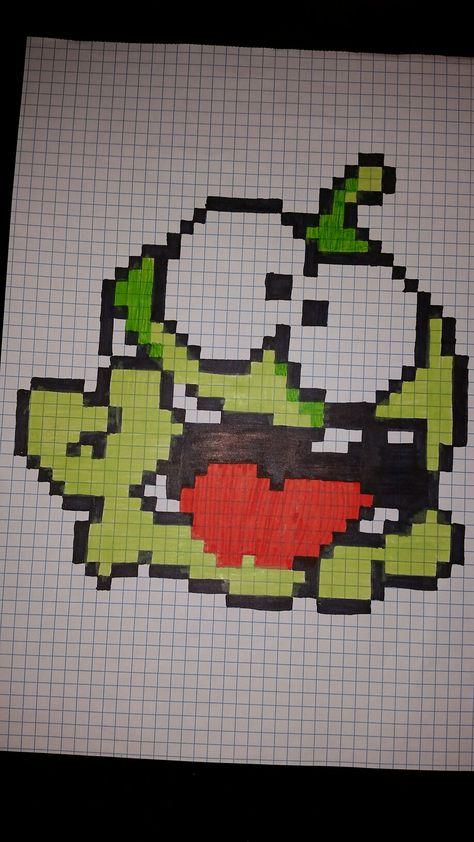 Cut the rope pixel art