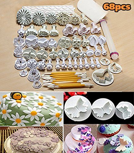 Cookie Fondant Cake Sugarcraft Plunger Icing Cake Decorating Cutter Mold FA