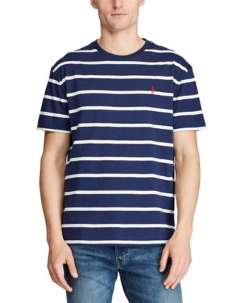 Polo Ralph Lauren Men's Classic Fit Striped Cotton T Shirt