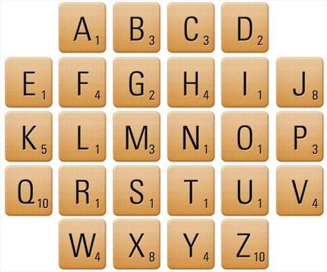 Pin By Candela On Cricut Projects Scrabble Letters Scrabble Scrabble Wall