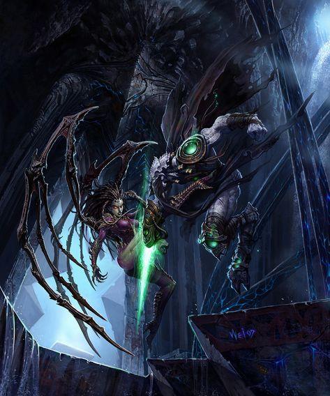 Blizzcon Poster Art - StarCraft II: Wings of Liberty Art Gallery