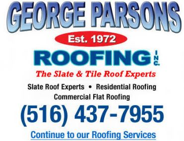 Quality Roofers Ready To Help! Contact George Parsons Roofing At (516) 437