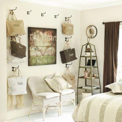 Teenager's room hooks